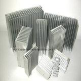 L'aluminium anodisent le radiateur argenté pour les pièces électriques