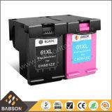 Cartouche d'encre compatible 61XL compatible avec l'usine pour HP CH563wn