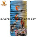 方法バイクのアクセサリの魚によって印刷されるバンダナ