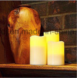 Lumière sans flammes à piles de thé de Flickery DEL de vente chaude pour la vente en gros