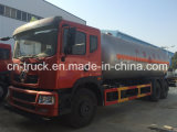 Caminhão de petroleiro do gás de China Hotsales Dongfeng 6X4 25cbm 10mt