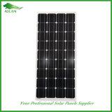 高性能の太陽電池パネルモノラル150W