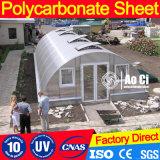 Folha material do policarbonato de Bayer para a estufa