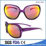 Gafas de sol Polished de la mano de la importación de la manera con la lente del espejo