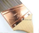 Professionnel longue Sash Peinture Angled fuselé synthétique Brosse Filament avec poignée en bois