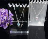 Carrinho acrílico elegante feito sob encomenda da jóia do indicador