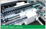 Caixa ondulada do fechamento inferior automático que dobra-se colando a máquina (GK-1200/1450/1600AC)