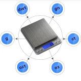 échelle portative de 500g/0.1g mini Digitals