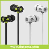 3.5mm 에서 귀 Mic를 가진 Samsung를 위한 입체 음향 Earbuds 헤드폰 이어폰