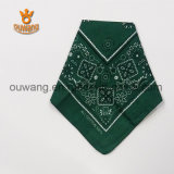 Ouwang Factory Custom Large Hankerchief Cotton Bandana