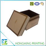 Caixa de empacotamento impressa logotipo do perfume de papel barato