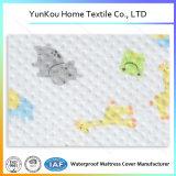 Hoja ajustada pesebre que hace punto del algodón suave hipoalérgico de la impresión permeable al aire