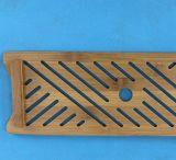Placa de bambú del té del rectángulo, bandeja de té de bambú, tarjeta de bambú del té