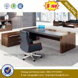 Роскошная офисная мебель l конструкции таблица офиса формы деревянная (NS-ND067)