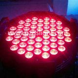 La PARITÉ multicolore de l'éclairage 54PCS*3W RVB 3in1 DEL d'effet de décoration d'étape de DEL peut s'allumer