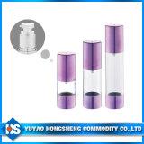 PETG luftlose runde Form-Lotion-luftlose Flasche der Flaschen-Lotion-Pumpen-luftlose Flaschen-15ml