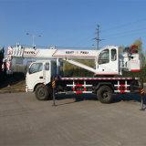Grue mobile de camion hydraulique chinois de la capacité 10t