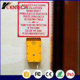 Telefono di Enmergency per il citofono della linea tranviaria Knzd-09A SOS