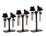 Étalage acrylique de boucle d'oreille d'étalage de bijou