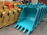 A máquina escavadora Buckets cubetas padrão e resistentes do Assy da rocha