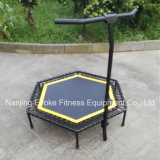 Adulto Jumping Fitness Indoor Hexagon Mini Rebounder Trampoline Park