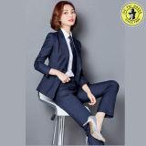 卸売は均一オフィスの女性スーツのユニフォームをカスタム設計する