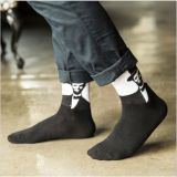 Fantastische Herr-Zeichenpatten-Mann-Kleid-Socke