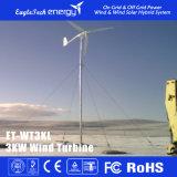 sistema das energias eólicas do moinho de vento do gerador de vento da turbina de vento 3kw