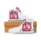 De douane maakt tot Schoenen de Klassieke Tennisschoenen van het Af:drukken van de Sublimatie van de Schoenen van het Canvas