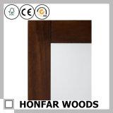 ホーム装飾のための長方形の純木ミラーフレーム