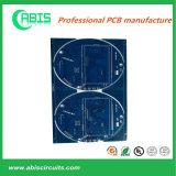 Доска PCB маски HASL припоя конструкции OEM голубая