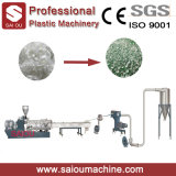 PE PP Plástico Film Single Screw Reciclagem Granulating Extrusion Machine Extrusion de plástico