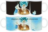 Tazza cambiante di colore di ceramica di sublimazione stampata marchio poco costoso