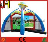 Gioco gonfiabile dell'ovatta di baseball dei giochi interattivi di sport