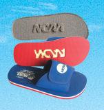 Ultra sandalia mediterránea con la insignia del bordado del cliente