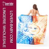 Sun & toalha de praia desproporcionado da lua para a toalha colorida L38385 da associação dois