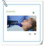 Avental dental descartável da clínica