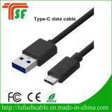 O USB datilografa a C 3.0 um cabo de extensão do USB da fêmea