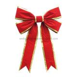 OEM 거대한 크리스마스는 차 활 우단 거대한 활을 머리를 숙인다