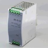 Fonte de alimentação industrial do trilho do RUÍDO do módulo de interruptor Dr-75-12 75W 12V 6.3A