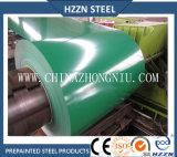 A cor Az150 verde revestiu a bobina de aço do Galvalume