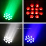 LEIDENE van de Disco 108*3W van de Partij van DJ Was die de Hoofd Lichte Verlichting van het Huwelijk van de Verlichting van het Stadium bewegen