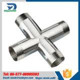 AISI304良質の長いタイプ十字の管付属品