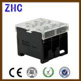 Тип блок рельса DIN серии Zcin совмещенный пластмассой терминальный