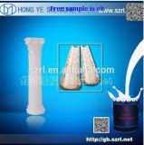 Caoutchouc de silicones de moulage de platine pour le balustre de Grc
