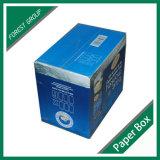 Caixa de empacotamento impressa costume da caixa Foldable do cartão