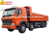 Sinotruk HOWO-A7 420HP 덤프 트럭 8X4 팁 주는 사람