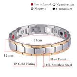 De Armband van het Staal van het Germanium van de nieuwe Mensen van de Manier voor Juwelen van Antifatigue van de Macht van de Energie van de Gezondheid van Mensen de Bio (10143)
