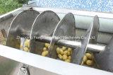 Lxtp-3000 감자 세척 껍질을 벗김 기계, 당근 또는 생강 씻기 및 껍질을 벗김 기계, 청과 세탁기 및 Peeler