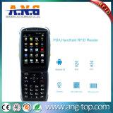 Exploración androide de la pista Handheld RFID Reader/NFC/Bluetooth/Barcode
